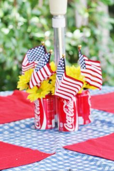 Patriotic/Memorial Day 4th of July Party Ideas | Photo 7 of 15 | Catch My Party