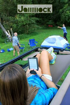 Jammock: it's a hammock for your Jeep.Price: $114.99 USD
