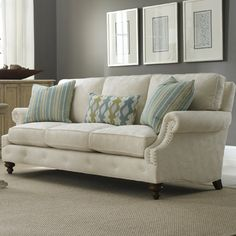 love the lines and depth (Sam Moore Emma Sofa)