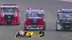 Roberval Andrade e Beto Monteiro vencem na primeira etapa da Copa Truck