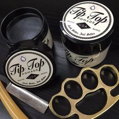 Tip Top Industries - Tip Top Pomade Original Formula - Medium Hold Tip Top Pomade is perfect for any hair cut or style. The original pomade formula provides shine and great hold with a mild scent. Thi