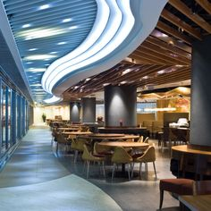 New Town Plaza Food Court in Hong Kong.