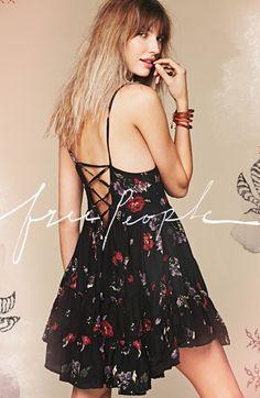 Free People Flower Print Slipdress @Nordstrom