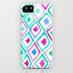 Watercolour Ikat II iPhone Case by Amy Sia - $35.00