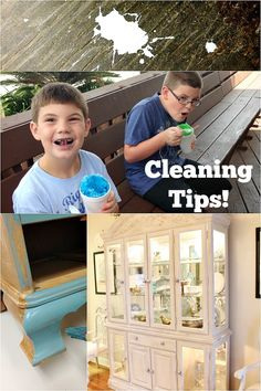 Cleaning tips with b