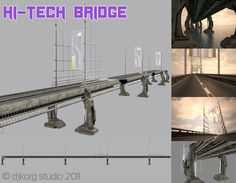 Download Hi tech bridge free 3D model or browse 9969 similar Hi tech 3D models. Available in max, obj, fbx, 3ds and other formats. Browse 140000+ 3D Models on CGTrader.