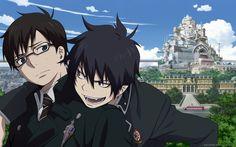 Anime Blue Exorcist  Ao No Exorcist Rin Okumura Yukio Okumura Wallpaper