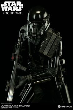 The Death Trooper Specialist Premium Format Figure is available at Sideshow.com for fans of Rogue One: A Star Wars Story and the Empire collectibles.