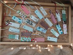 Anhänger karte weihnachten merry christmas Advent Calendar, Merry Christmas, Holiday Decor, Home Decor, Paper, Paper Mill, Bookmarks, Calendar, Cards