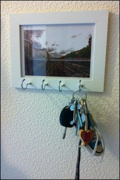 Do you like this creative key holder idea? See more by visiting our site now :)