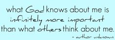 God knows!