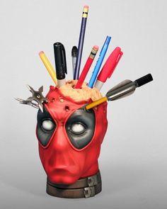 Deadpool pen holder