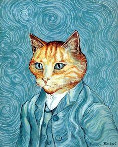 Прикольные кошки Сьюзен Герберт / фото 2016