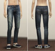 The Sims 4 : Rusty Nail's Nudie Jeans 2 @ Sims 4 Downloads