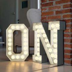 Vegaz Alphabet Lights  outthereinteriors.com £295