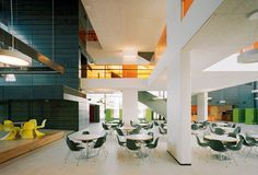 The Comprehensive School in Joensuu, Finland, by Lahdelma & Mahlamäki Architects. #architecture for kids