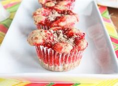 Cheery Cherry Cobbler Cupcakes  Cherry pie filling sits atop super-sweet Cinnamon Toast Crunch muffins. A sprinkle of streusel turns this recipe into the ultimate treat. For extra fun, drizzle a bit of melted vanilla icing up top!