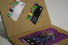 Encapsulated Talent - A promotional portfolio designed to be delivered through the mail. #portfolio #print