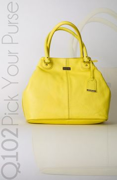 Cole Haan - Convertible Tote in Lemon Ice.  Go to wkrq.com to find out how to play Q102's Pick Your Purse!