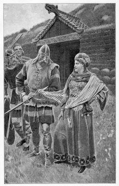 Laxdæla_saga_-_Guðrún_smiled_at_Halldor.jpg