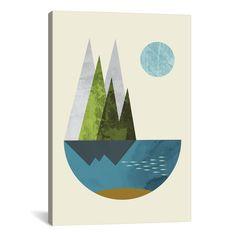 Abstract art geometric art nordic design art print by FLATOWL: Large Art, Large Wall Art, Rock Kunst, Canvas Art Prints, Fine Art Prints, Wall Prints, Large Prints, Owl Canvas, Canvas Artwork