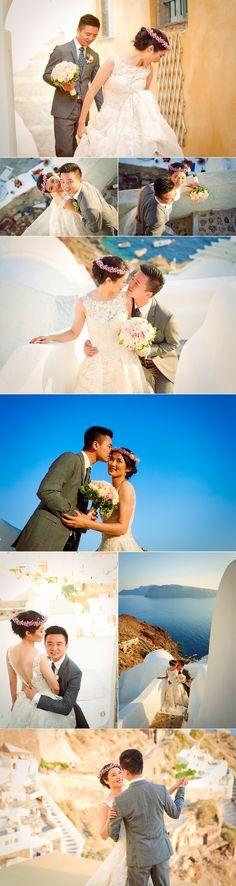Omi Lili φωτογραφηση γαμου στην Σαντορινη by Giota Zoumpou PhotostudioGT   Φωτογράφος γάμου - Φωτογράφηση γάμου από το PhotostudioGT Santorini, Photo Sessions, Lily, Orchids, Lilies, Santorini Caldera