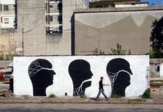 STREET ART UTOPIA » We declare the world as our canvasStreet Art by Pablo and David - In Montevideo, Uruguay » STREET ART UTOPIA