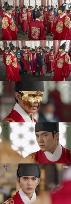 [Spoiler] Added episodes 37 and 38 captures for the #kdrama 'Ruler: Master of the Mask'