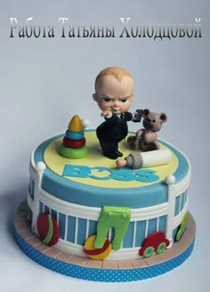 The boss baby cake Boss Baby Party Pinterest Cake Babies