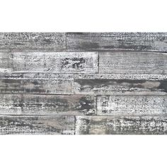 Easy Planking Thermo-treated in. x 5 in. x 4 ft. White and Black Barn Wood Wall Planks sq. per Look of a whitewashed old barn Reclaimed Barn Wood, Weathered Wood, Old Wood, Whitewash Wood, Distressed Wood, Plank Walls, Wood Panel Walls, Wood Wall, Pine Trim