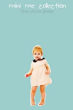 the OLIVIA dress pdf pattern size 18M to 10 by seekatesew on Etsy