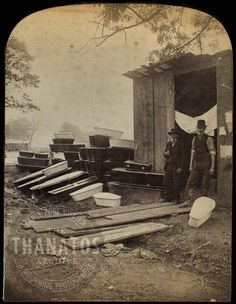 Emergency Morgue along the Conemaugh River, The Great Flood, Johnstown, PA Flood]. Rare Photos, Vintage Photographs, Vintage Photos, Johnstown Pennsylvania, Johnstown Flood, Pennsylvania History, American Chestnut, Interesting History, Interesting Photos