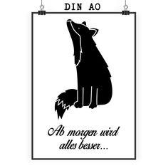 Poster DIN A0 Fuchs Sterngucker aus Papier 160 Gramm  weiß - Das Original von Mr. & Mrs. Panda.  Jedes wunderschöne Poster aus dem Hause Mr. & Mrs. Panda ist mit Liebe handgezeichnet und entworfen. Wir liefern es sicher und schnell im Format DIN A0 zu dir nach Hause. Das Format ist 841 mm x 1189 mm.    Über unser Motiv Fuchs Sterngucker  Füchse kommen auf der ganzen Welt vor. Der Rotfuchs, der Polarfuchs und der Graufuchs sind nur einige der vielen Fuchsarten, die es gibt. Auch im heimischen…