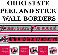 Ohio State Wall Border