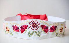 Folkova / Opasok Podpoľanie European Countries, Czech Republic, Handmade, Wedding, Smocking, Valentines Day Weddings, Hand Made, Weddings, Bohemia