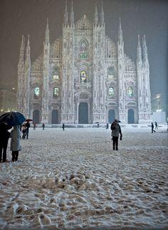 Milano, Italy- Winter Wonderland