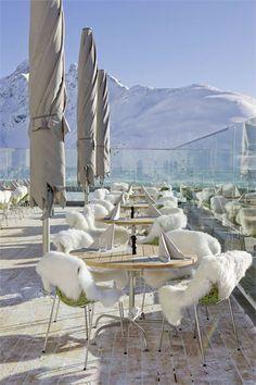 Romantik Hotel Muottas Muragl. St. Moritz, Switzerland.  Very posh!
