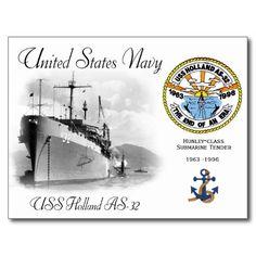 USS Holland AS-32 Submarine Tender