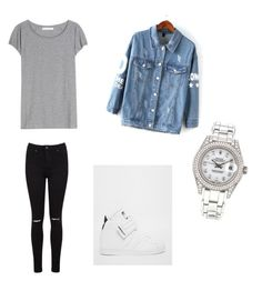 """""""BTS V - I Need U Dance Practice inspired look"""" by bangtan01 on Polyvore featuring Miss Selfridge, Acne Studios, adidas and Rolex"""