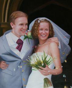WeddingPortraits | WeddingPaintings | Bridal Portraits........ #weddingportraits #paint #painting #paintyourlife