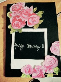 Card made by me.....#home made card❤
