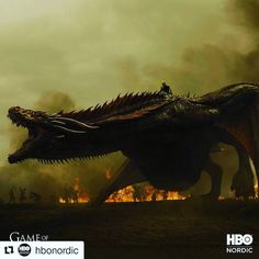 Youre a dragon. Be a dragon. was the most streamed show on this year. How did you like season with Season 7, Sci Fi, Entertaining, Movie Posters, Movies, Dragon, 2016 Movies, Film Poster, Films