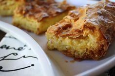 Greek Kaseri Cheese Pie — Κασερόπιτα - Kali Orexi