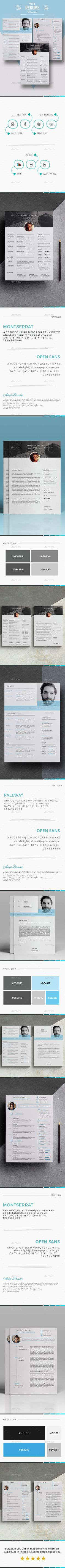 The Bundle Resume Template #design #210x297  • Download here → https://graphicriver.net/item/the-bundle-resume-template/21138464?ref=pxcr