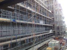 Facade Under Construction