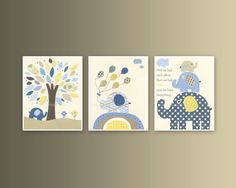 Baby boy Nursery wall Decor Children Art print by DesignByMaya, $50.00