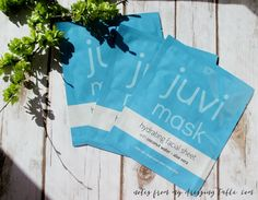 Juvi Mask Hydrating Facial Sheets   My Notes - Notes from My Dressing Table *pr