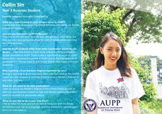 Read AUPP's Brief Student Bio About Her University Experience