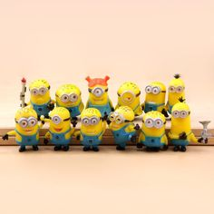 12 X Despicable Me The Minions PVC Miniature Toy Figures 3-4cm/1.2-1.6inch Tall $6.70 http://www.amazon.com/gp/product/B00QWIGPTY?ie=UTF8&camp=1789&creativeASIN=B00QWIGPTY&linkCode=xm2&tag=coloredsandz-20