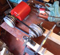 A new life for a 1/4HP motor... is going to be a diy lathe! #2: change of plan, now a diy lathe and some parts for it - by FreddyS @ LumberJocks.com ~ woodworking community